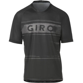 Giro Roust Jersey Heren, black/charcoal hypnotic